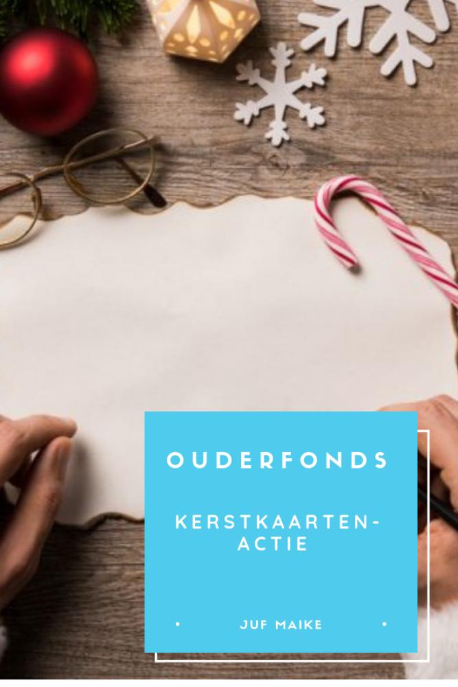Ouderenfonds: kerstkaartenactie