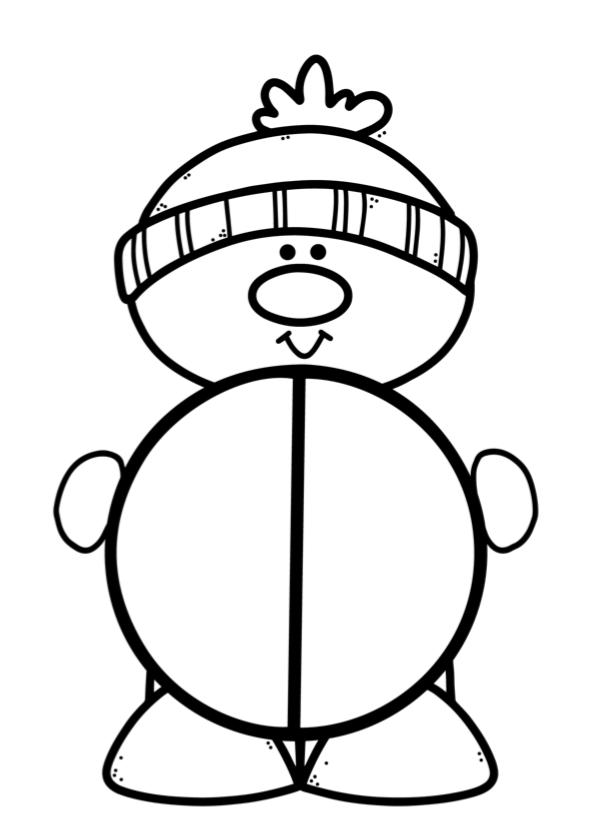 Thema winter lespakket rekenen splitsen