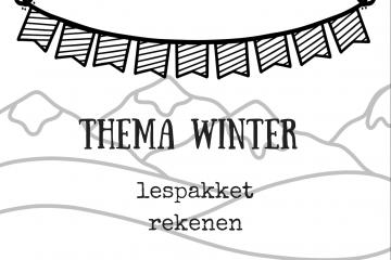 Thema winter lespakket rekenen