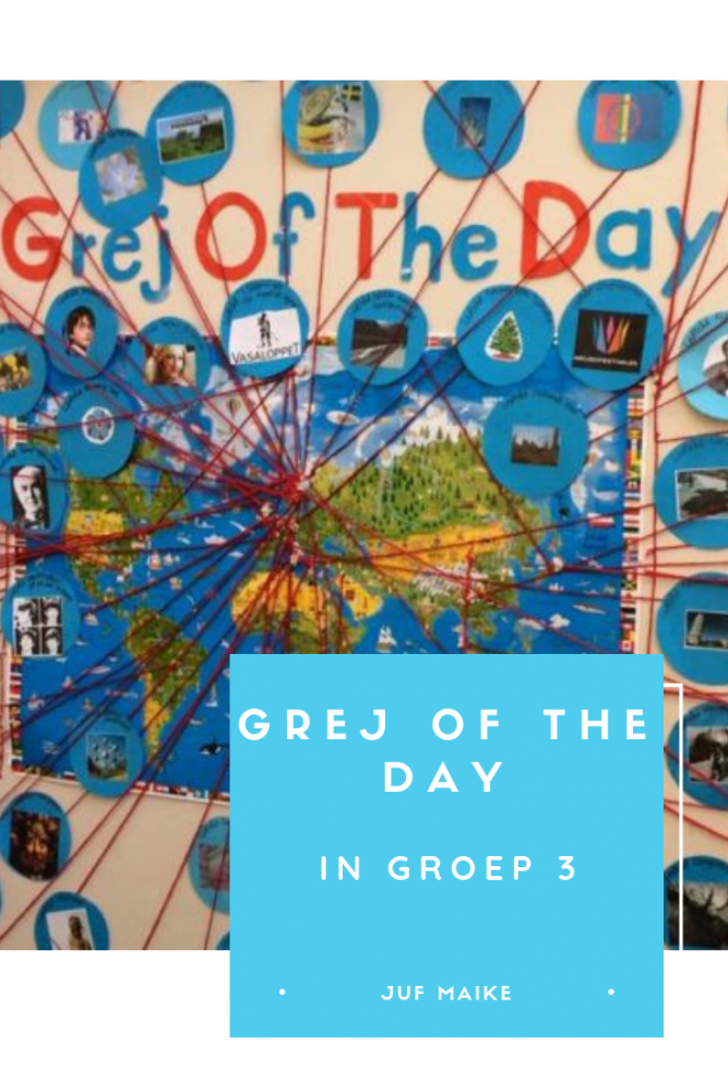 Grej of the day in groep 3
