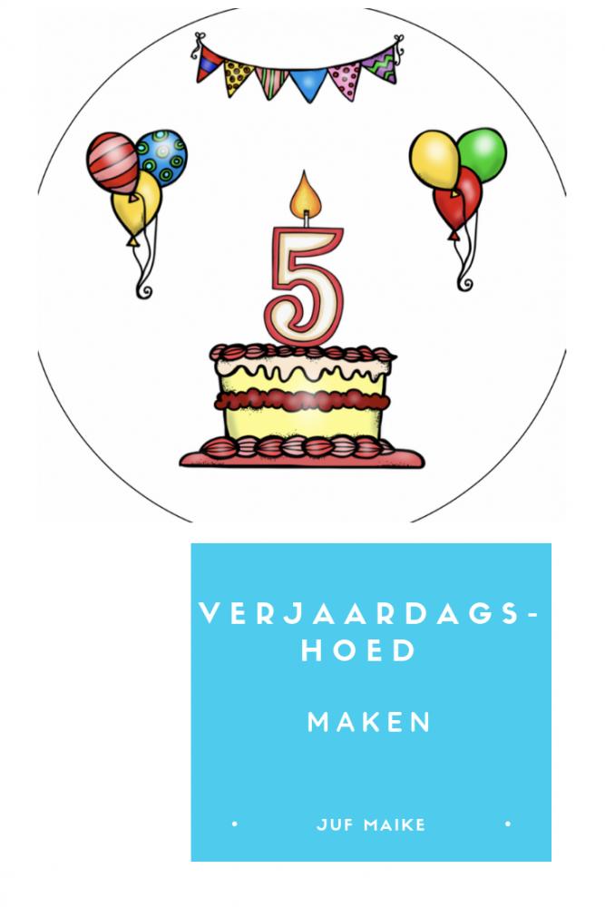 Verjaardagshoed maken