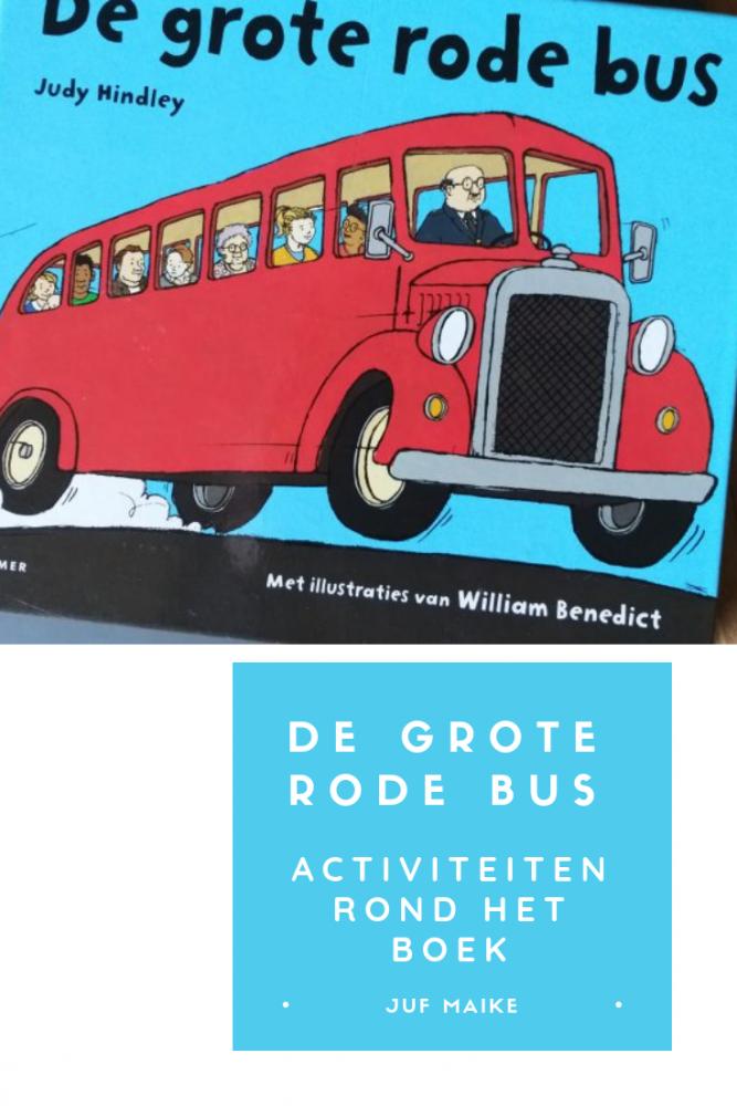 De grote rode bus, activiteiten rond het boek
