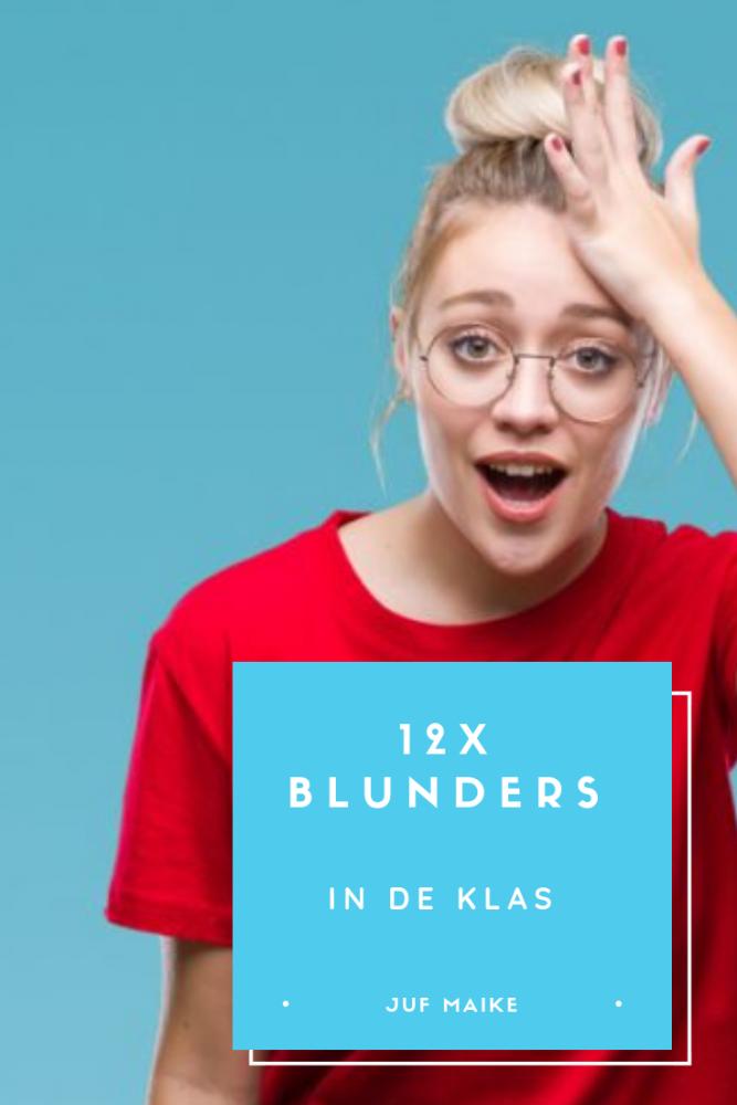 12x Blunders in de klas