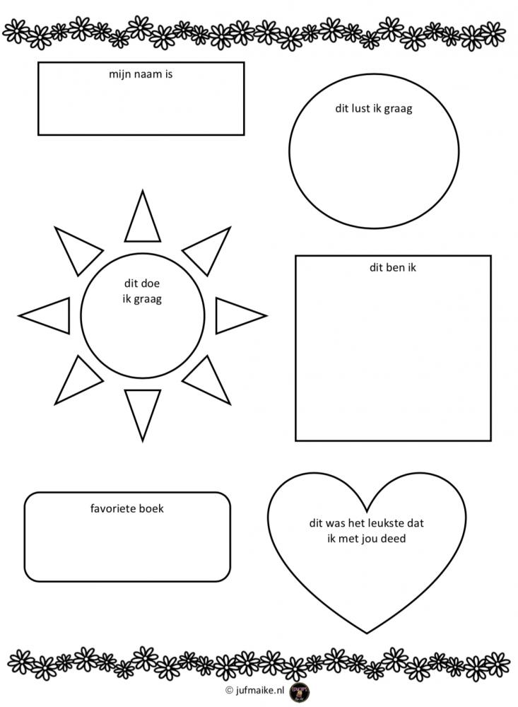 Verbazingwekkend Vriendenboekje voor de klas • Juf Maike GC-26