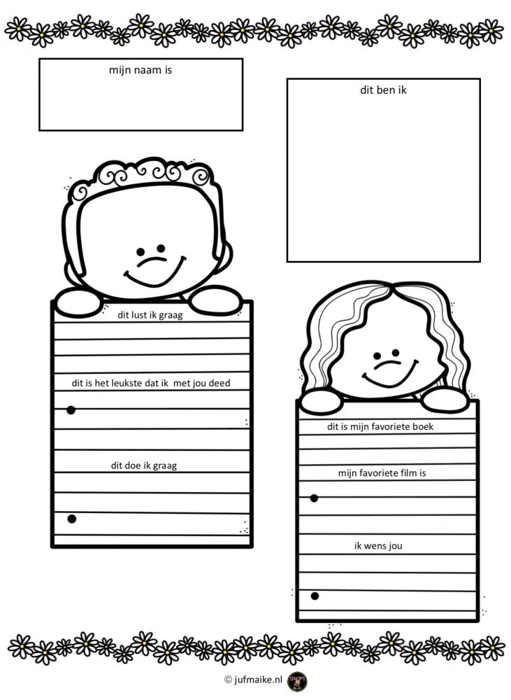Vriendenboekje voor de klas 2