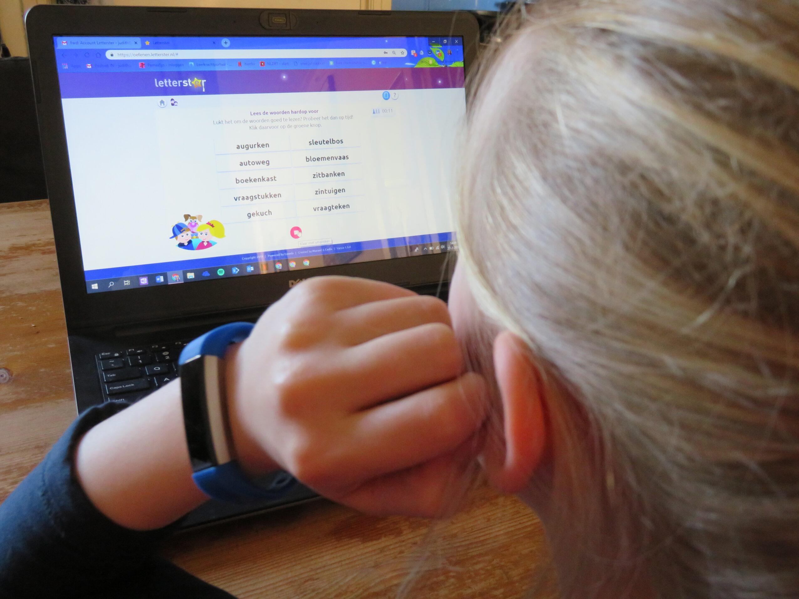 Letterster; oefenen bij lees- en spellingproblemen