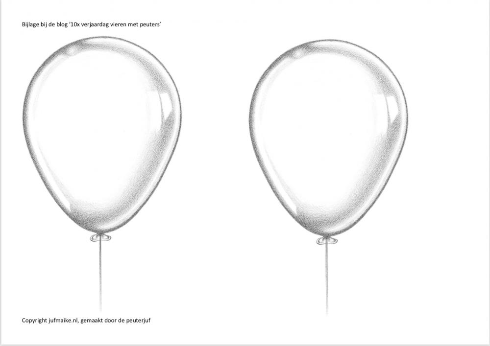 Feestmuts ballonnen