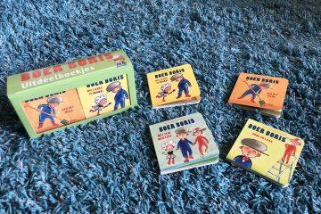 Trakatie cadeautjes: uitdeelboekjes