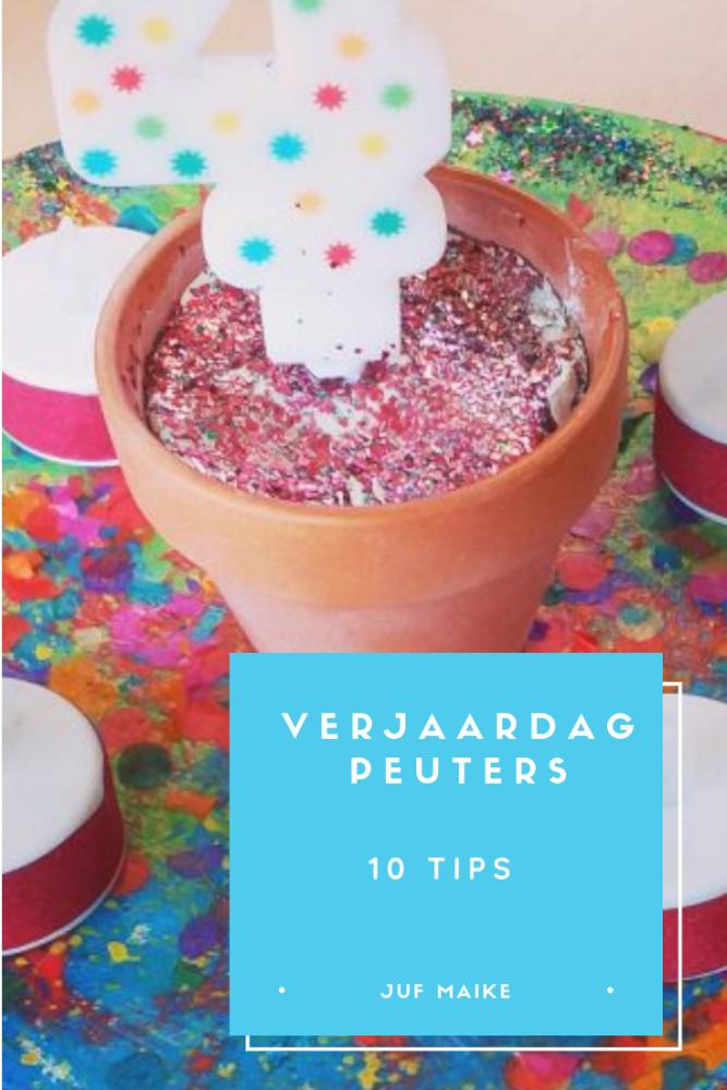 Verjaardag peuters: 10 tips