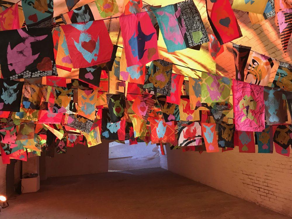 Tweetakt – beeldende kunst op Fort Ruigenhoek