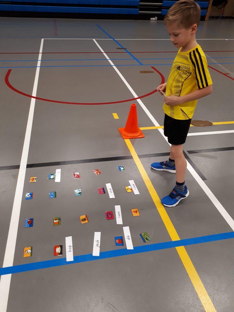 Rekenen bewegend leren gymzaal