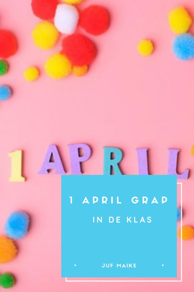1 april grap in de klas