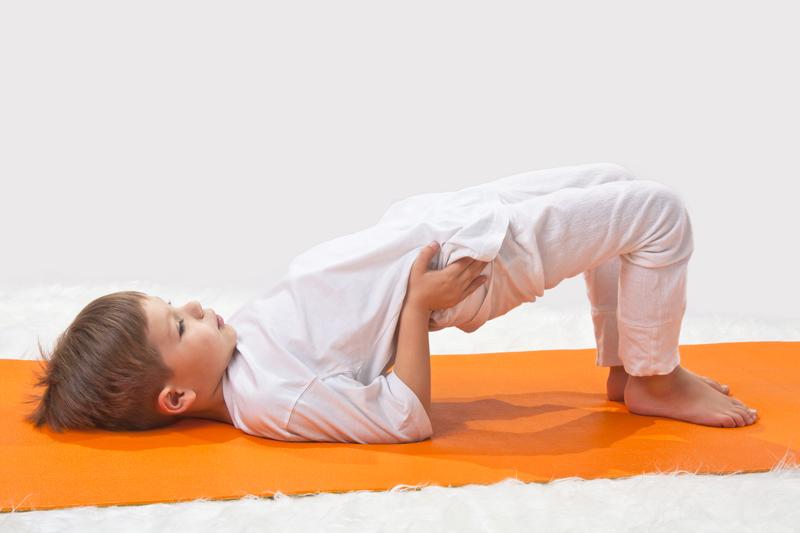brug yoga met jonge kinderen