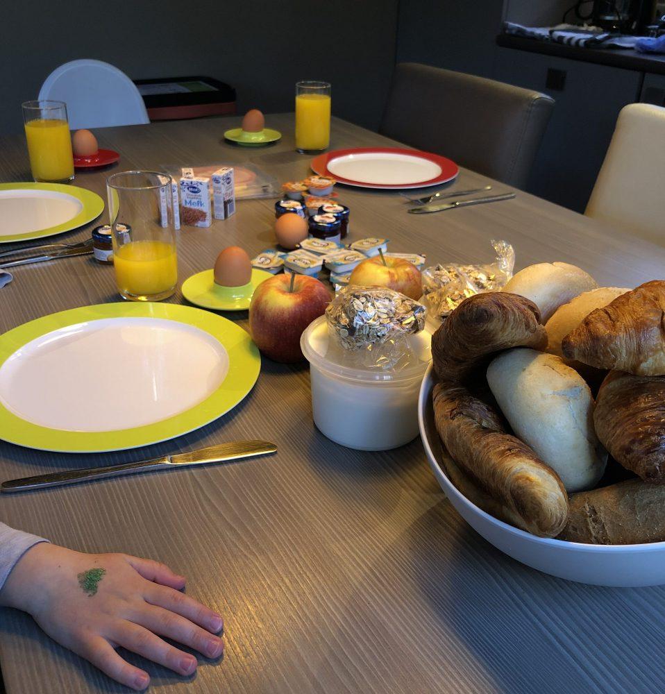 Rabbit Hill ontbijt