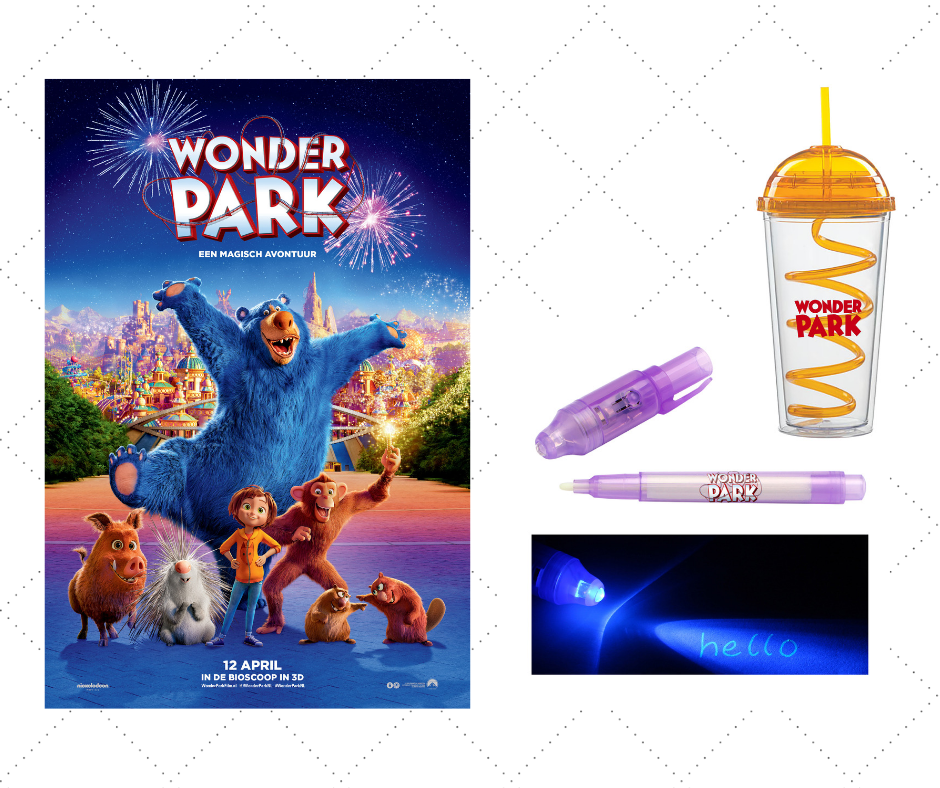 Wonderpark: win kaartjes én goodies