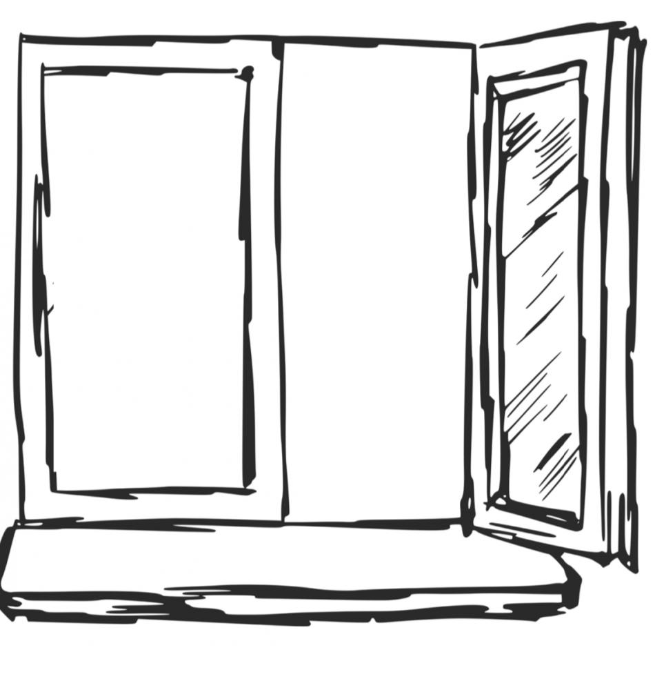 wat zie je als je uit het raam kijkt