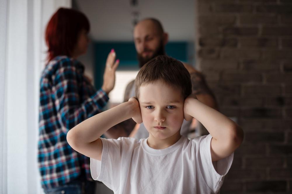 Kinderen van gescheiden ouders