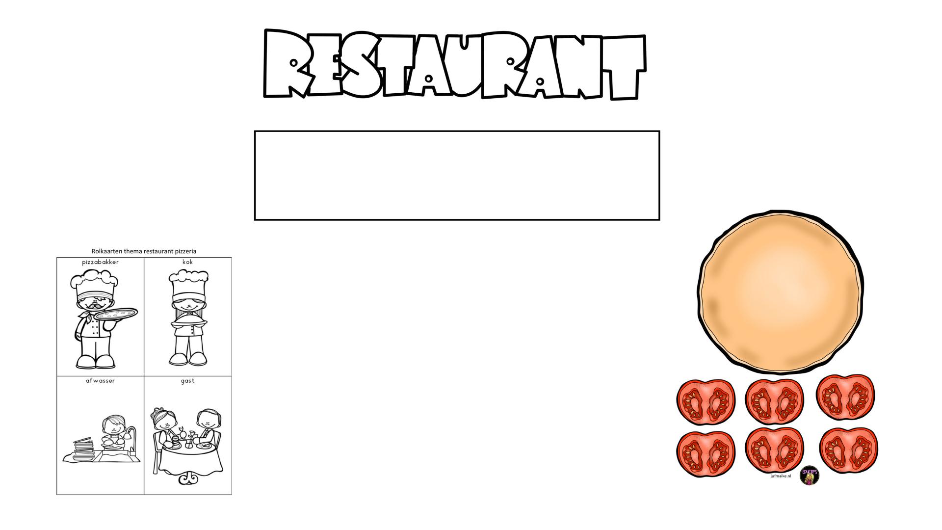 Thema restaurant: pizzeria