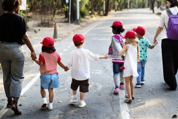 Eerste schooldag kind