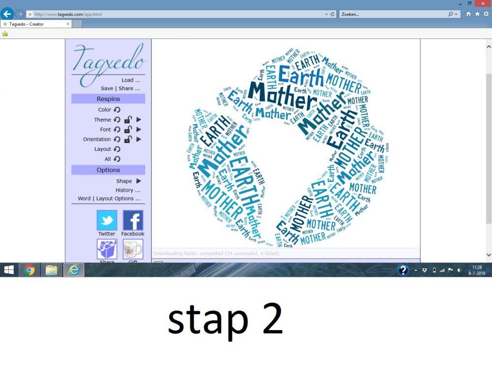 Stap 2 Afscheidscadeau voor de klas