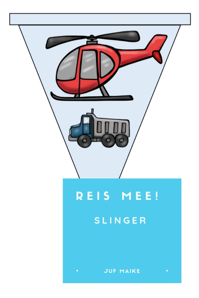 Reis mee! Slinger