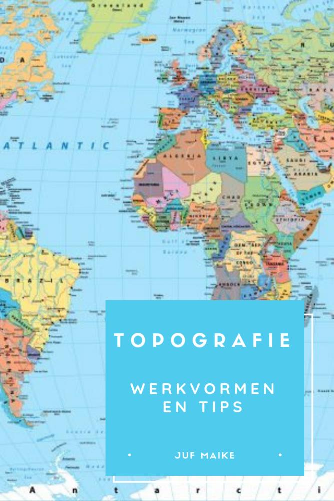 Topografie werkvormen en tips