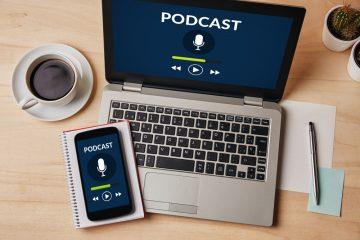Podcasts productiviteit, succes, werkdrukverlichting