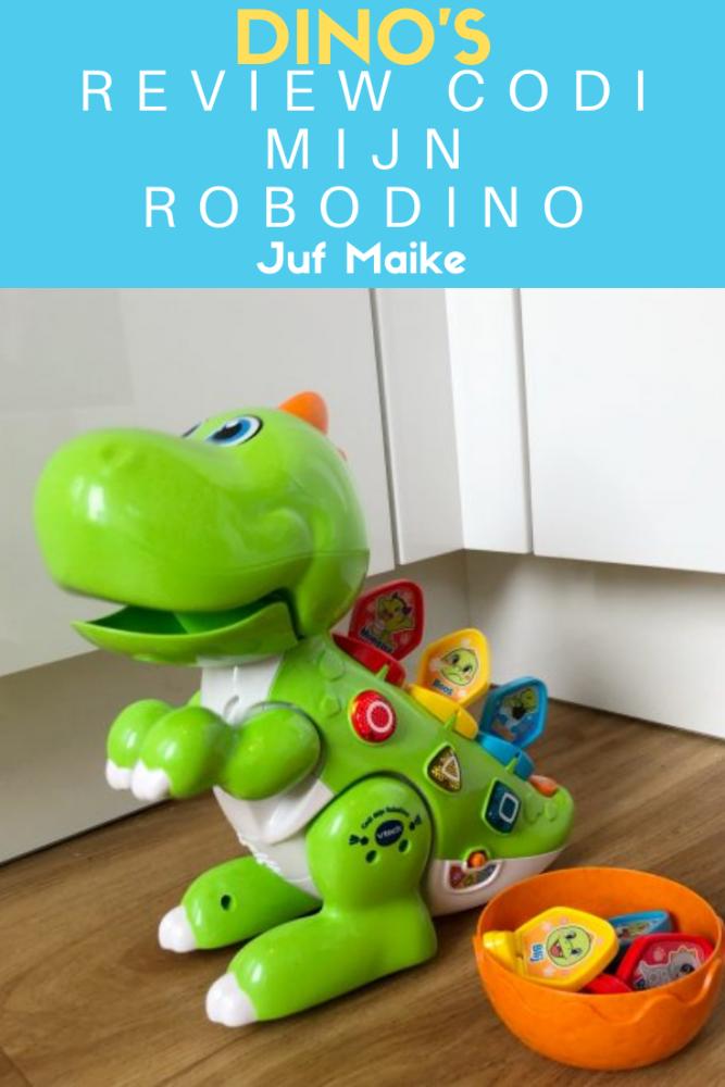 Codi mijn RoboDino; Genomineerd voor speelgoed van het jaar 2019