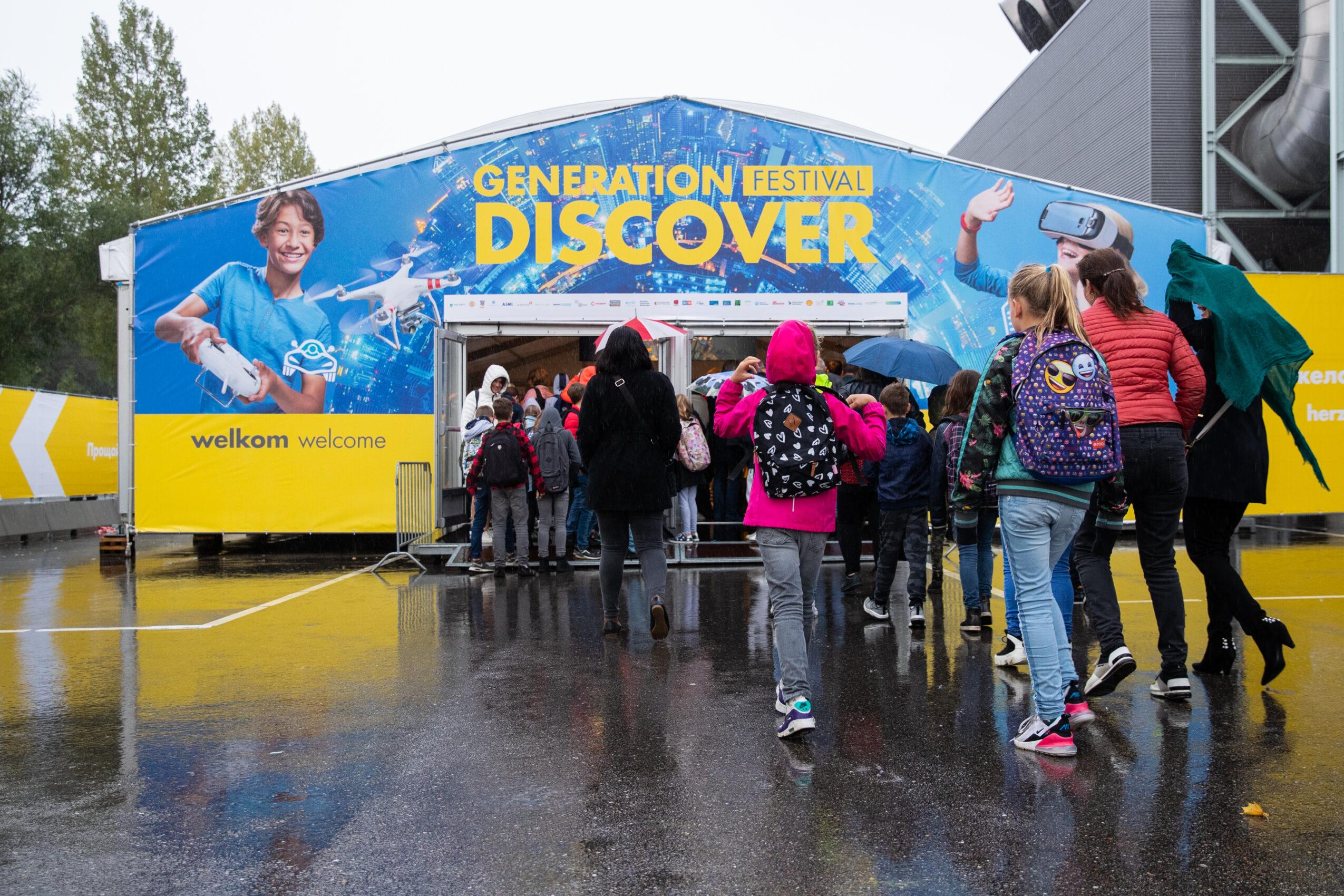 Generation Discover festival 2019: wetenschap en technologie