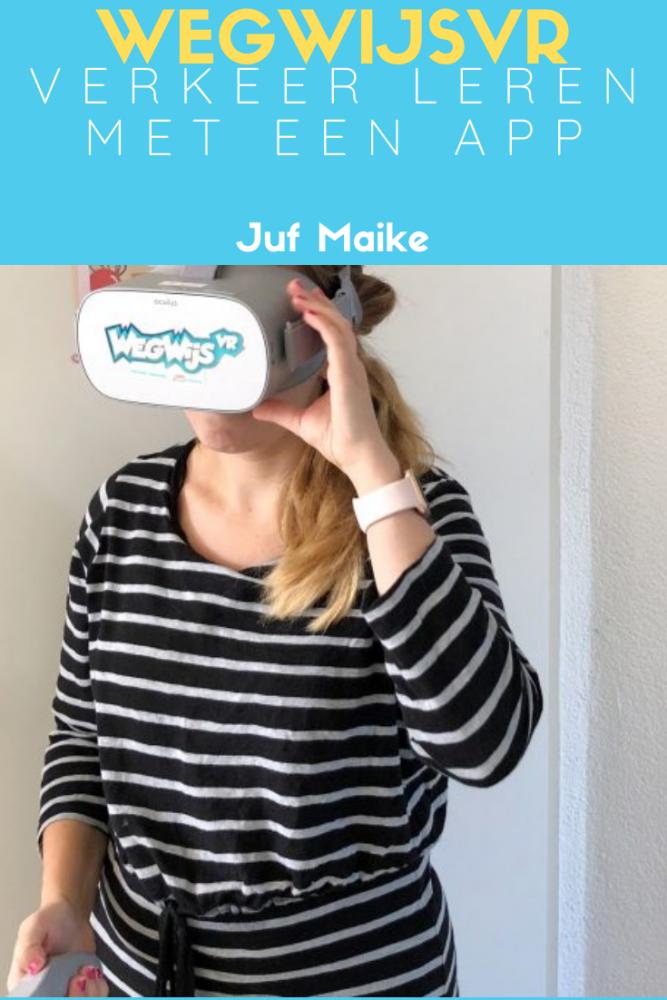 WegWijsVR; Verkeer leren met virtual reality en app
