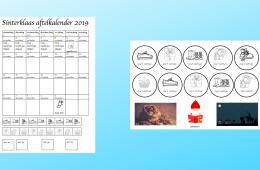 Aftelkalender Sinterklaas 2019