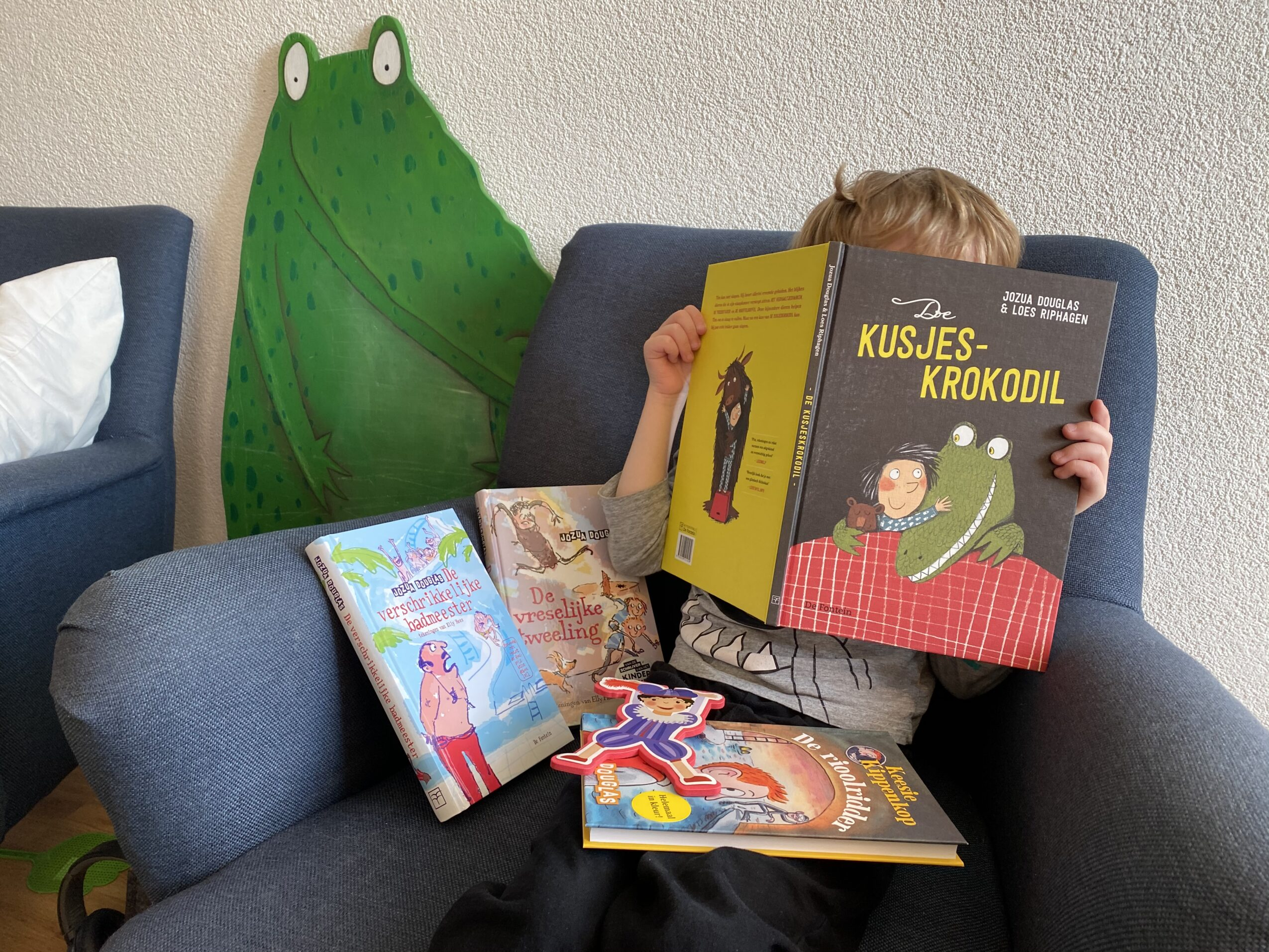 Jozua Douglas boekenpakket WIN