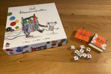 Het Kleurenmonster spel en Rory's Story Cubes WIN