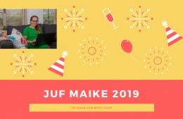 Juf Maike in 2019
