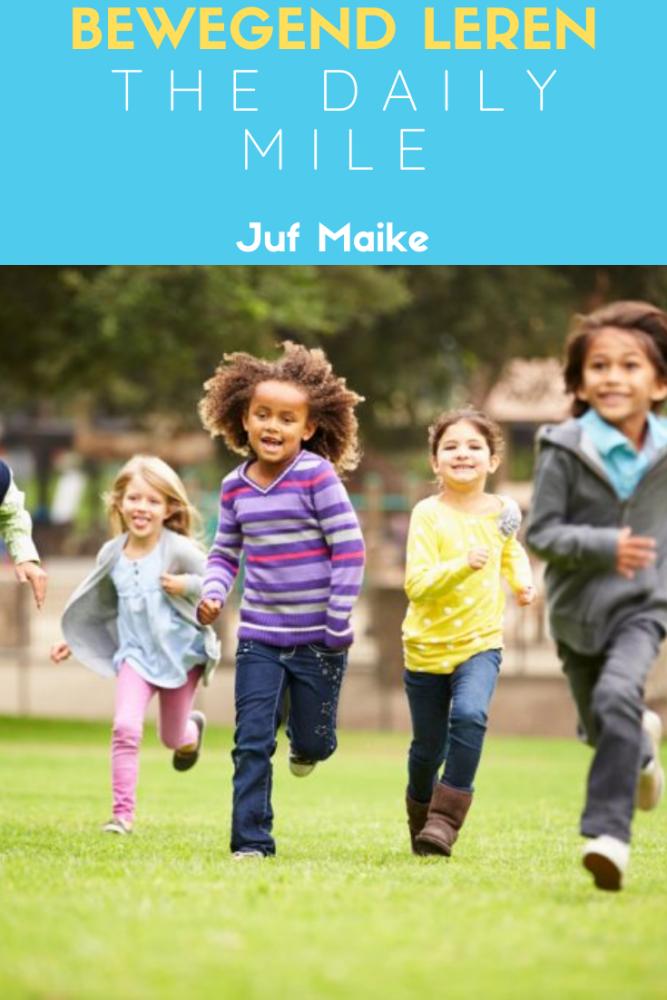 Bewegend leren; The Daily Mile zorgt voor meer beweging