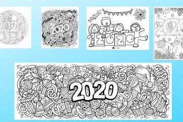 Kleurplaat 2020