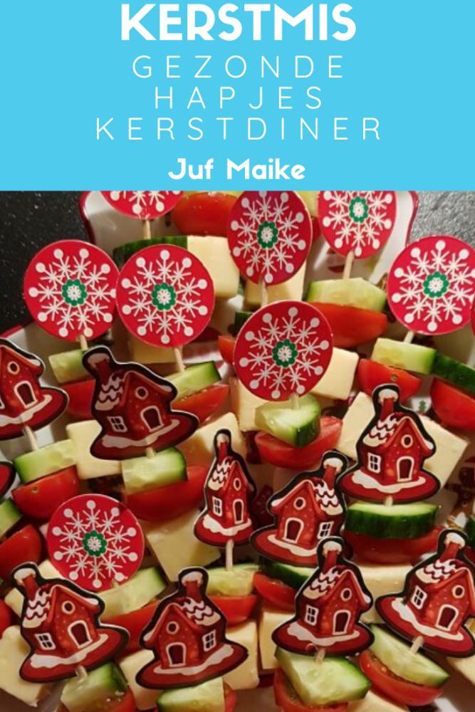 Gezonde hapjes voor het kerstdiner school of thuis; inspiratie + tips