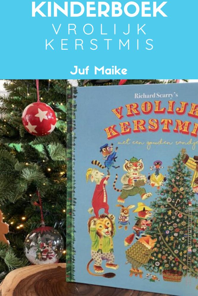 Recensie van het kinderboeken Richard Scarry's Vrolijk Kerstmis met een gouden randje, geschreven door Kathryn Jackson