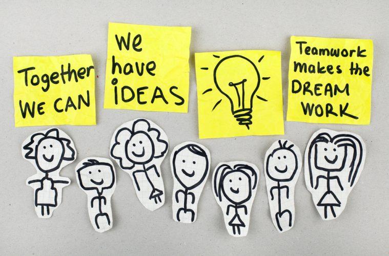 Quote voor een collega, teambuilding