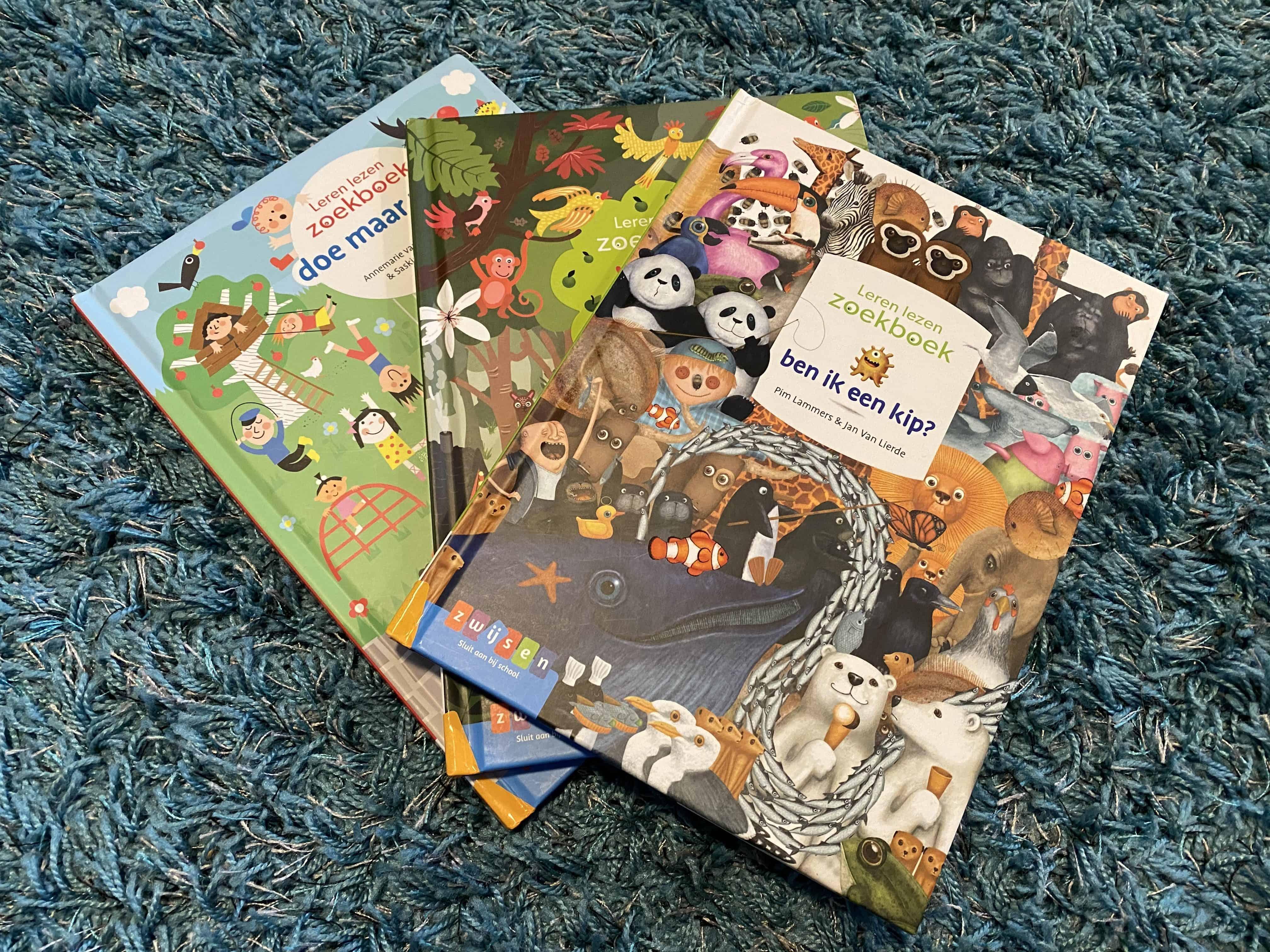 Zoekboeken voor beginnende lezers