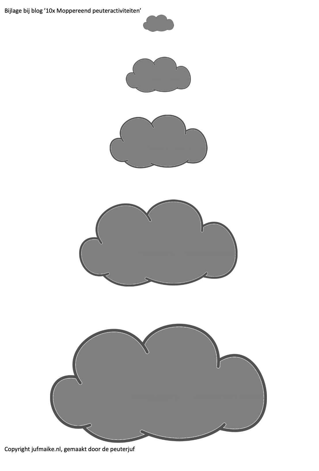 Wolken Moppereend