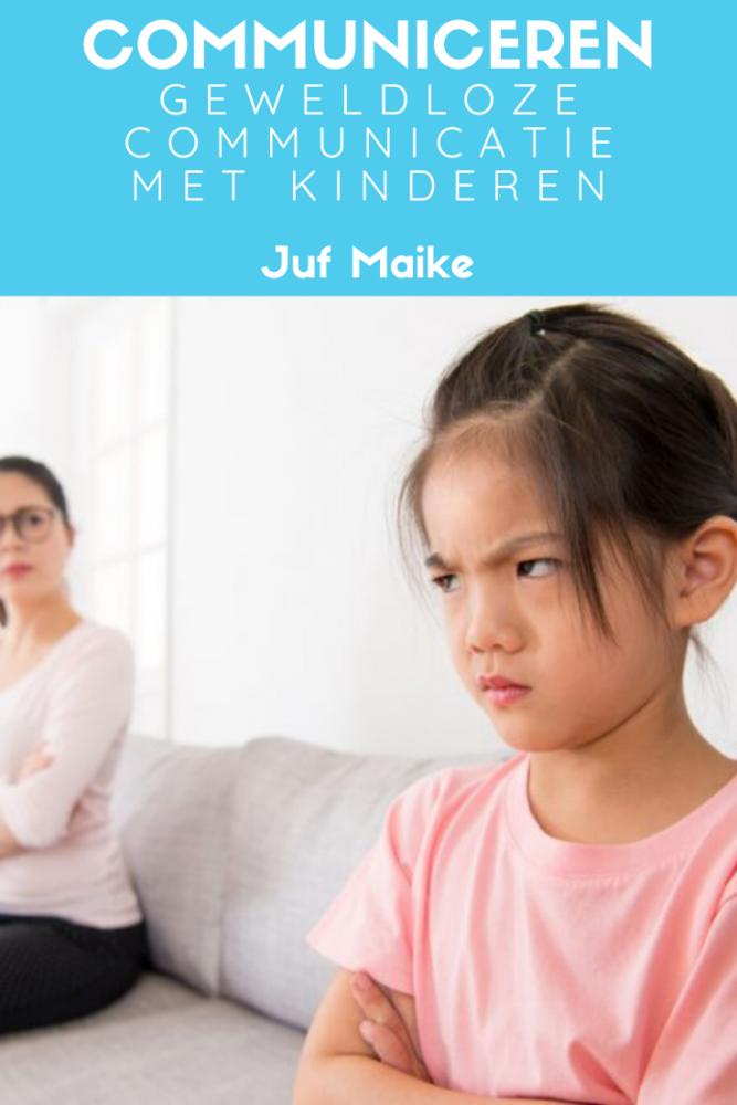 Communiceren met kinderen; Geweldloze communicatie