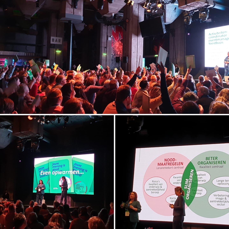 Onderwijsstaking Rotterdam