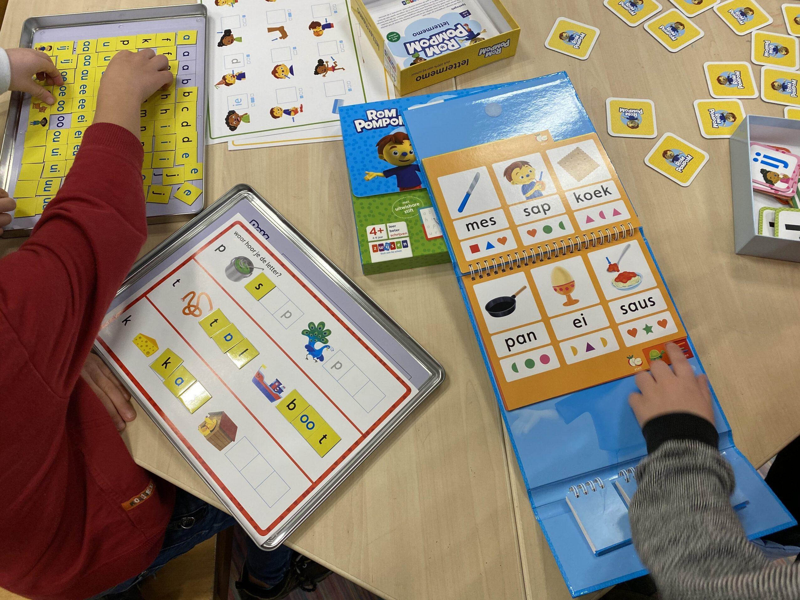 spellenpakket voor de klas
