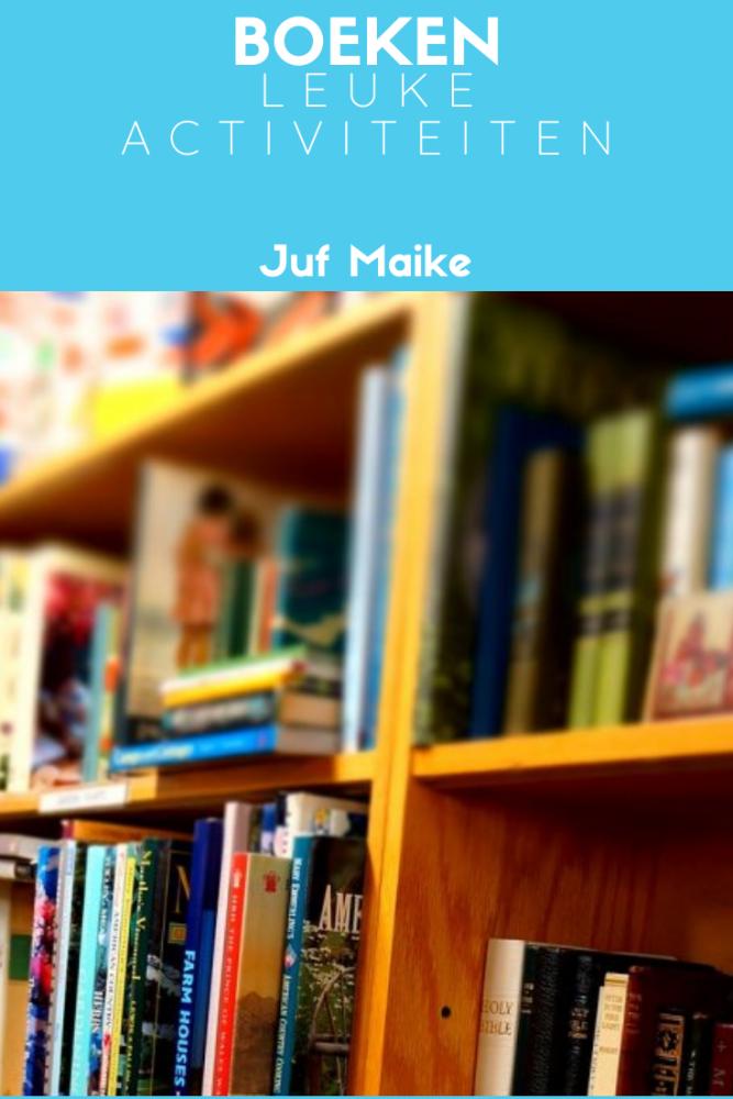Leuke activiteiten rond boeken ter leesbevordering