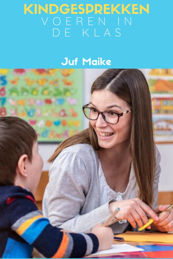 Kindgesprekken voeren in de klas om het kind gemotiveerd aan zijn doelen te laten werken