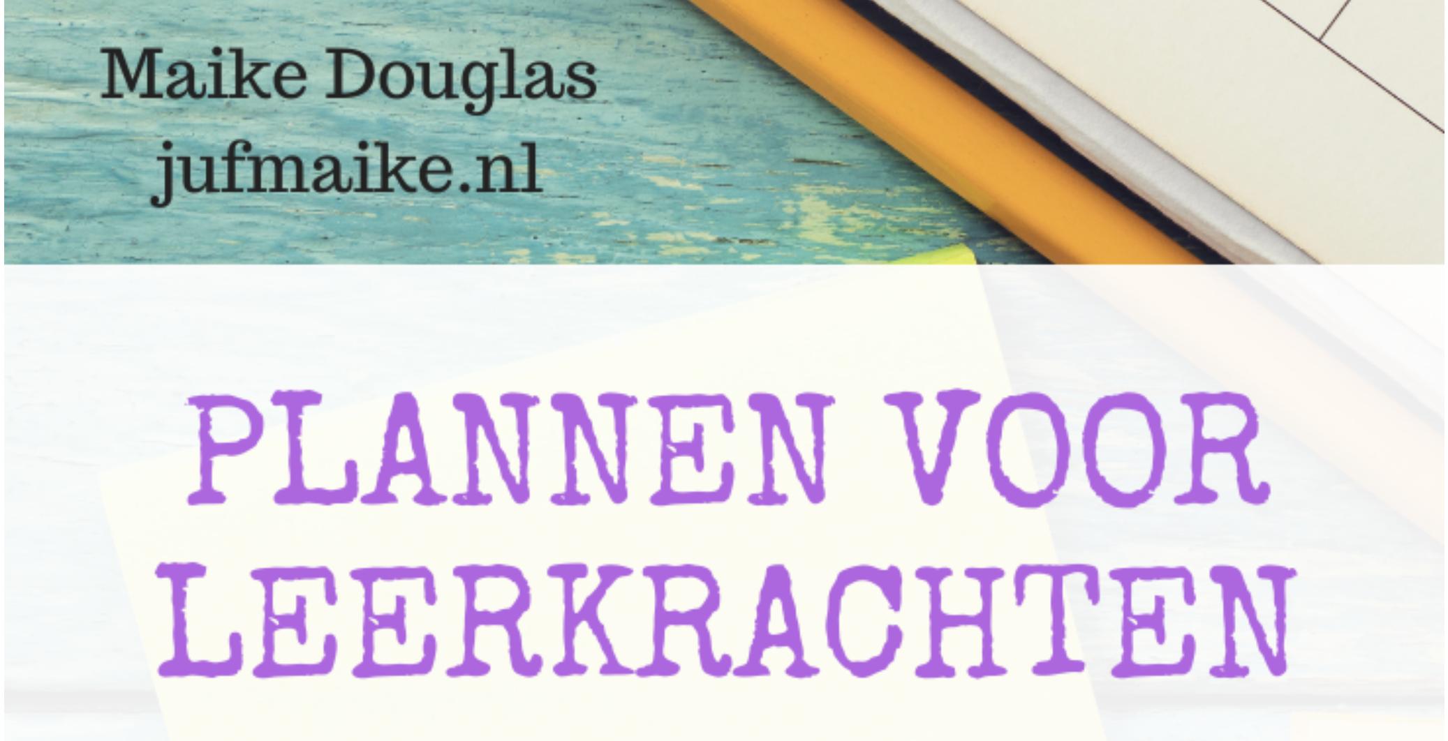 E-book Plannen voor leerkrachten