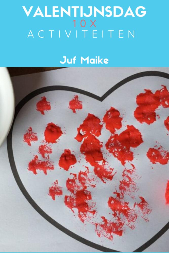Valentijnsdag; 10 activiteiten voor peuters