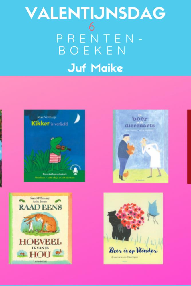 Valentijnsdag; 6 leuke kinderboeken over aardig zijn en liefde