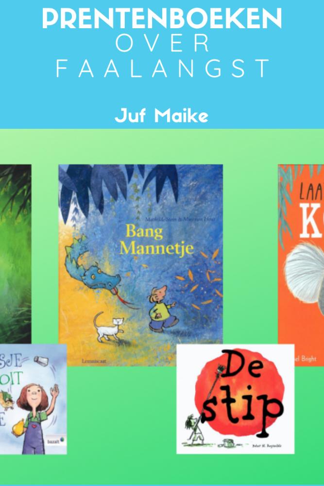 Prentenboeken over faalangst bij en voor kinderen